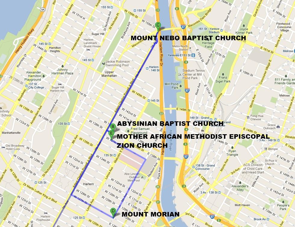 iglesias gospel harlem - Día 6: Nueva York (Intrepid y High Line Park)