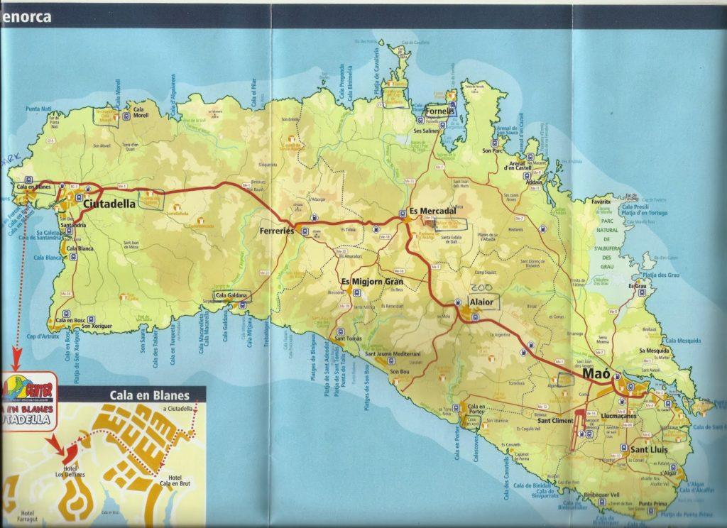 menorca 1024x744 - Qué ver en Menorca en 4 días?