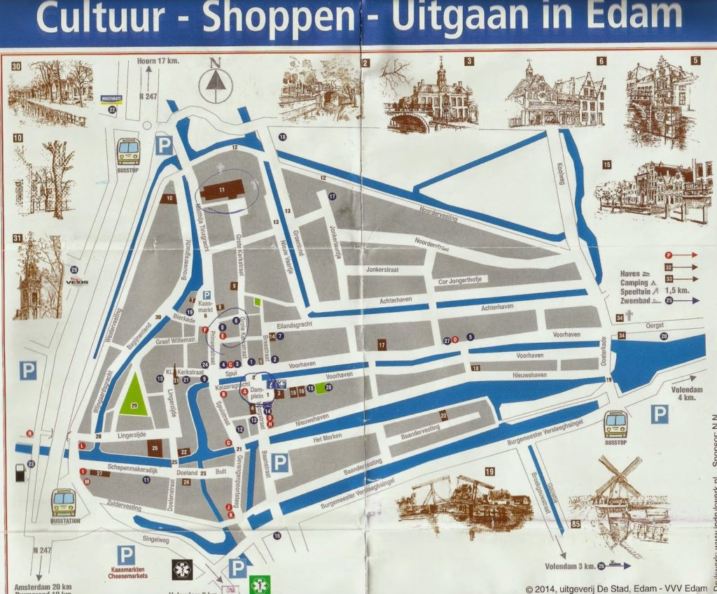 EDAM 1024x849 - Qué ver en Amsterdam en 2 días? (I)