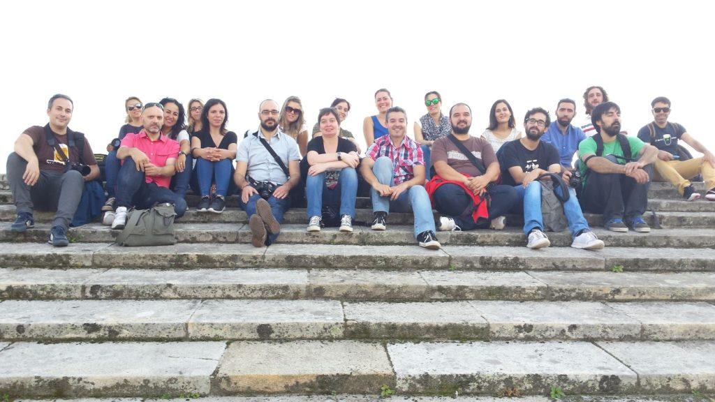 20150926 180655 1024x576 - Visita a los tejados de la catedral de Santiago