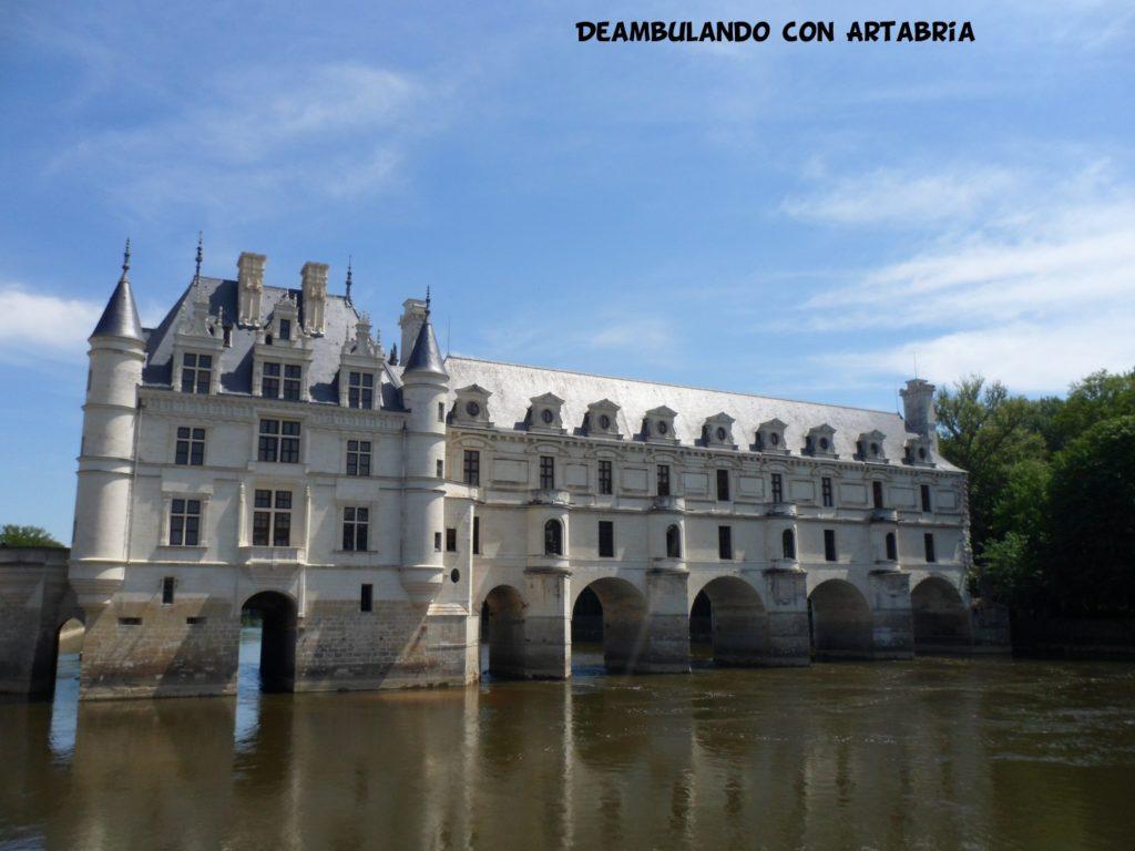 chateaudechenonceau 1024x768 - Valle del Loira en 2 días