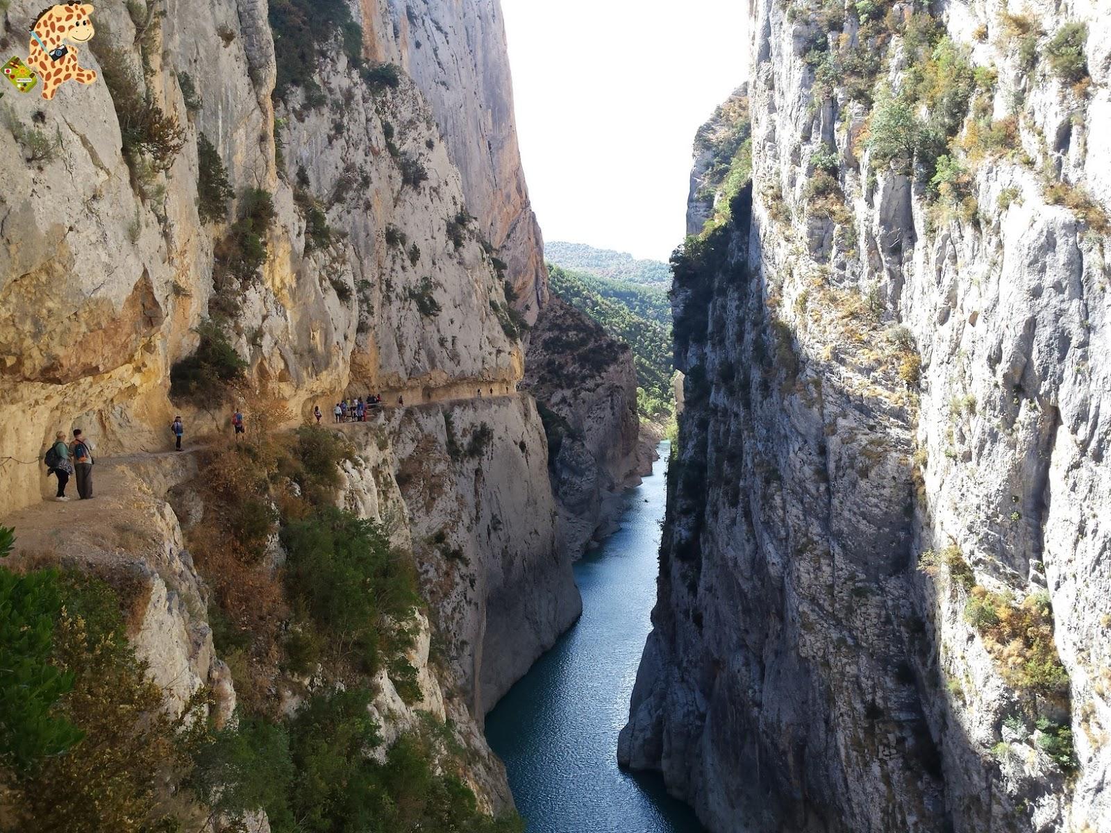 Qué ver en el Congost de Mont Rebei