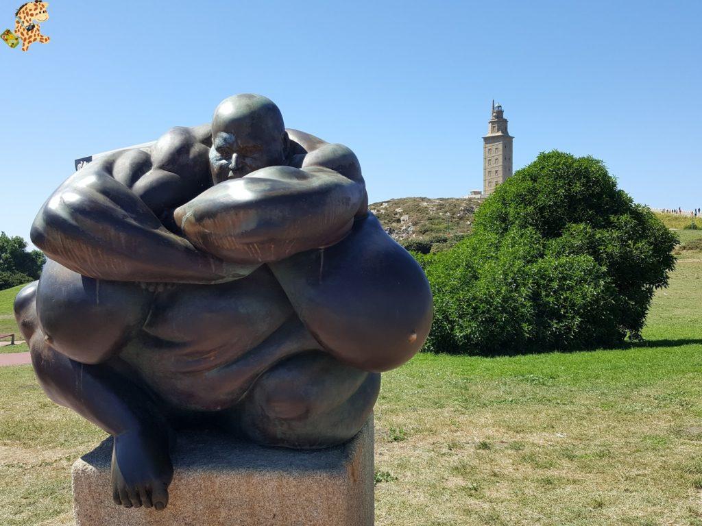 parqueescultoricodelatorredehercules282929 1024x768 - La Torre de Hércules y su Parque Escultórico