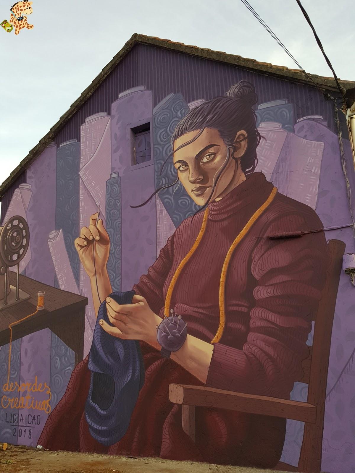 Ruta por los murales de Ordes – A Coruña