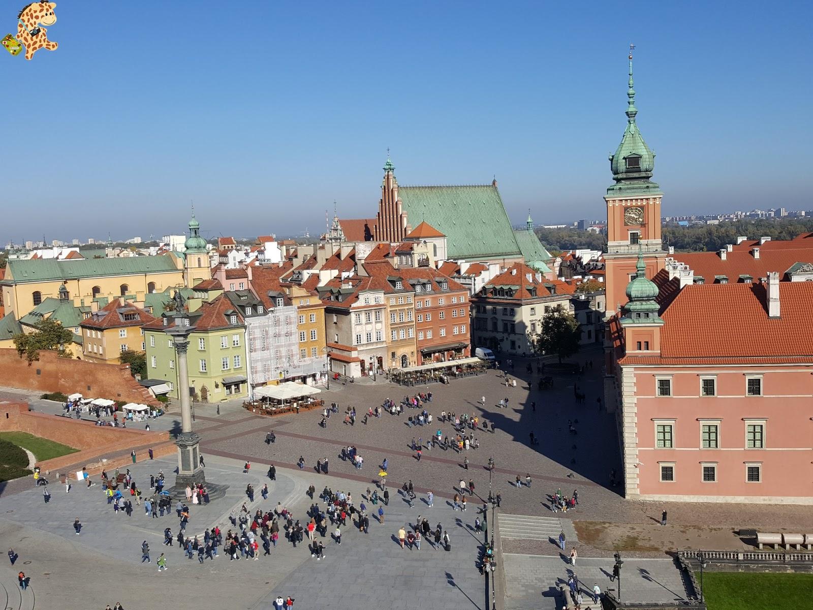 Varsovia en un día: qué ver y qué hacer
