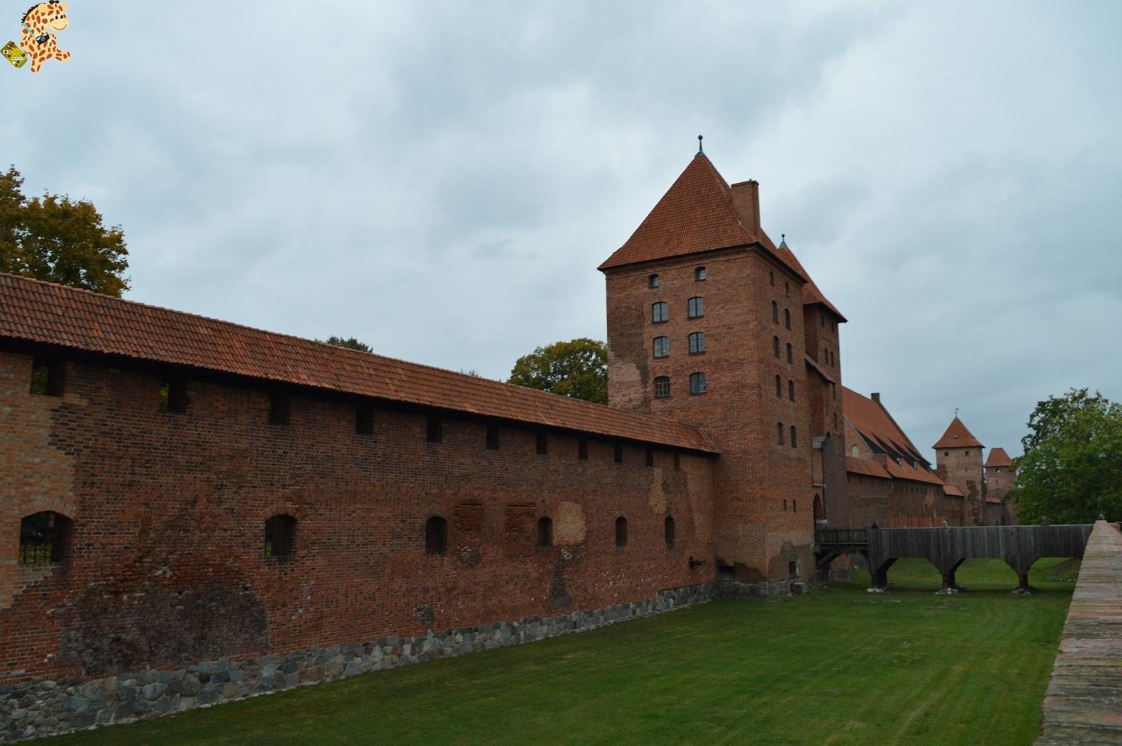 Castillo de Marlbork, la fortaleza roja