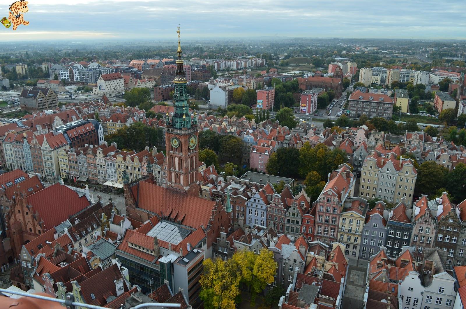 Gdansk en un día, qué ver