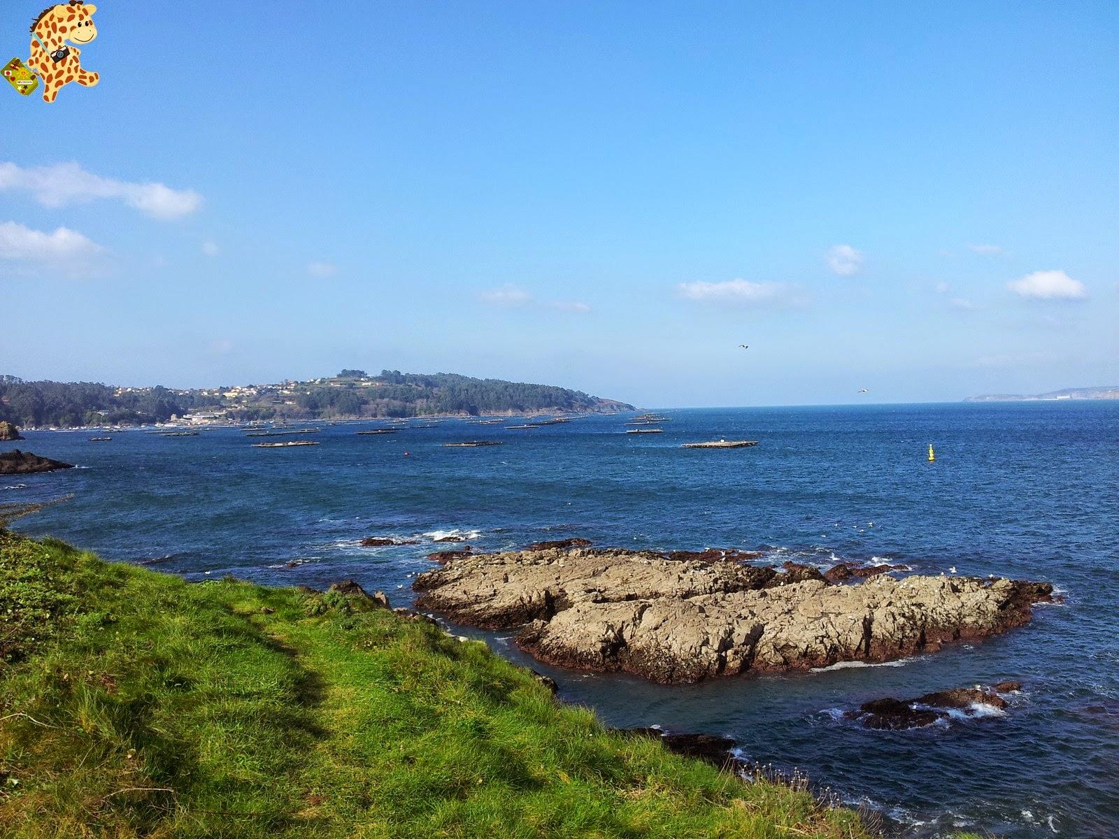 Senderismo en Sada: PR-G 96 Ruta Costa Doce (A Coruña)