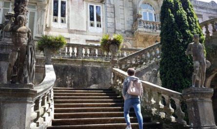 pazo de lourizan 1 445x265 - Pazo de Lourizán, Pontevedra, un pazo nada típico