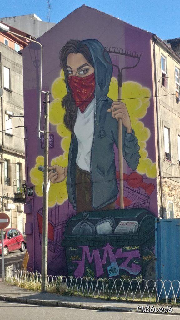 Nana 576x1024 - 5 lugares con arte urbano en Galicia