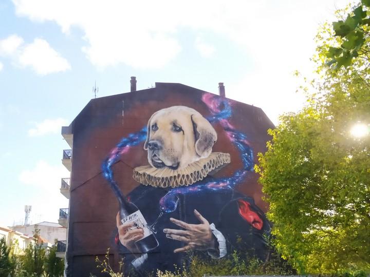 las meninas ferrol 1 - 5 lugares con arte urbano en Galicia