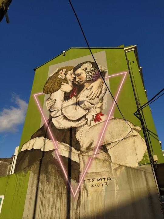 las meninas ferrol 2 - 5 lugares con arte urbano en Galicia