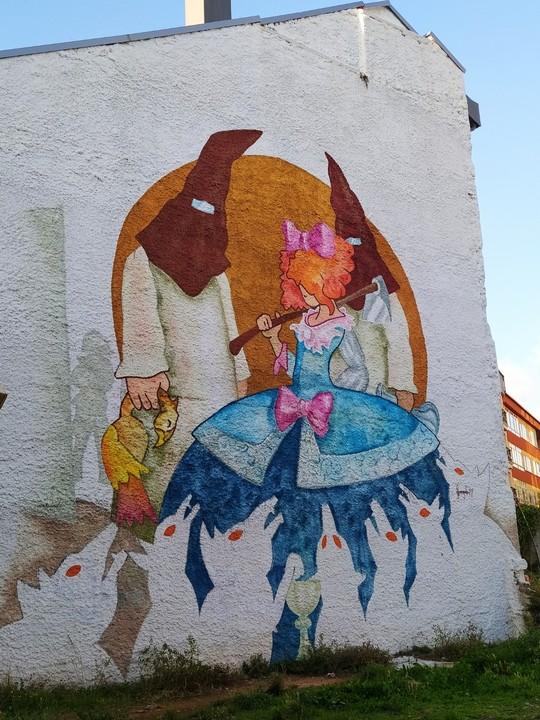 las meninas ferrol 3 - 5 lugares con arte urbano en Galicia