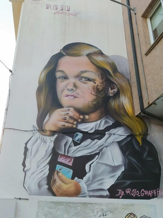 las meninas ferrol 4 - 5 lugares con arte urbano en Galicia