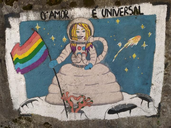las meninas ferrol 6 - 5 lugares con arte urbano en Galicia