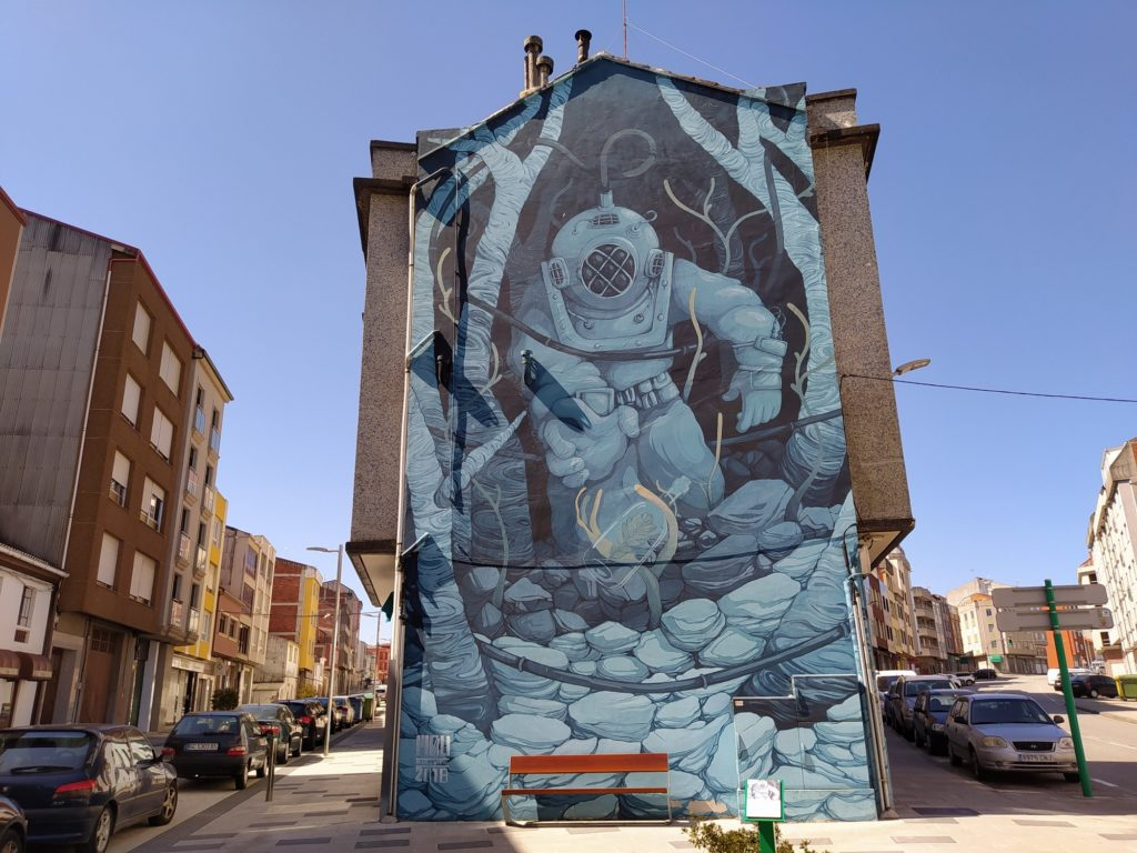 murales carballo 5 1024x768 - 5 lugares con arte urbano en Galicia