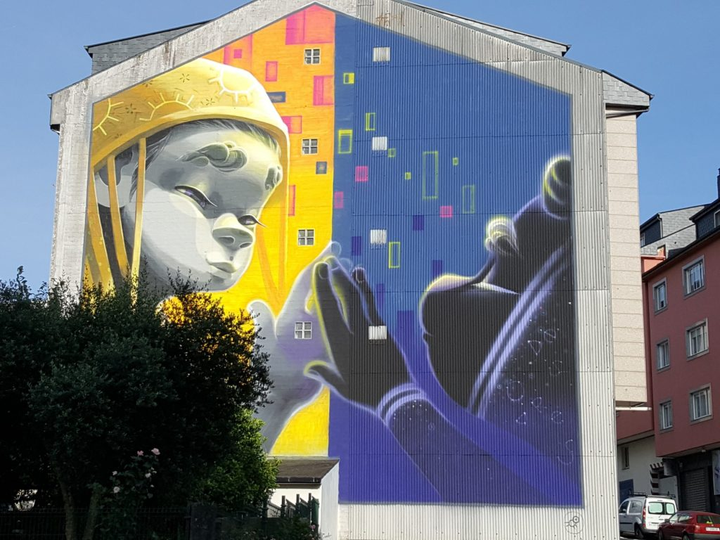 murales ordes 2 1024x768 - 5 lugares con arte urbano en Galicia