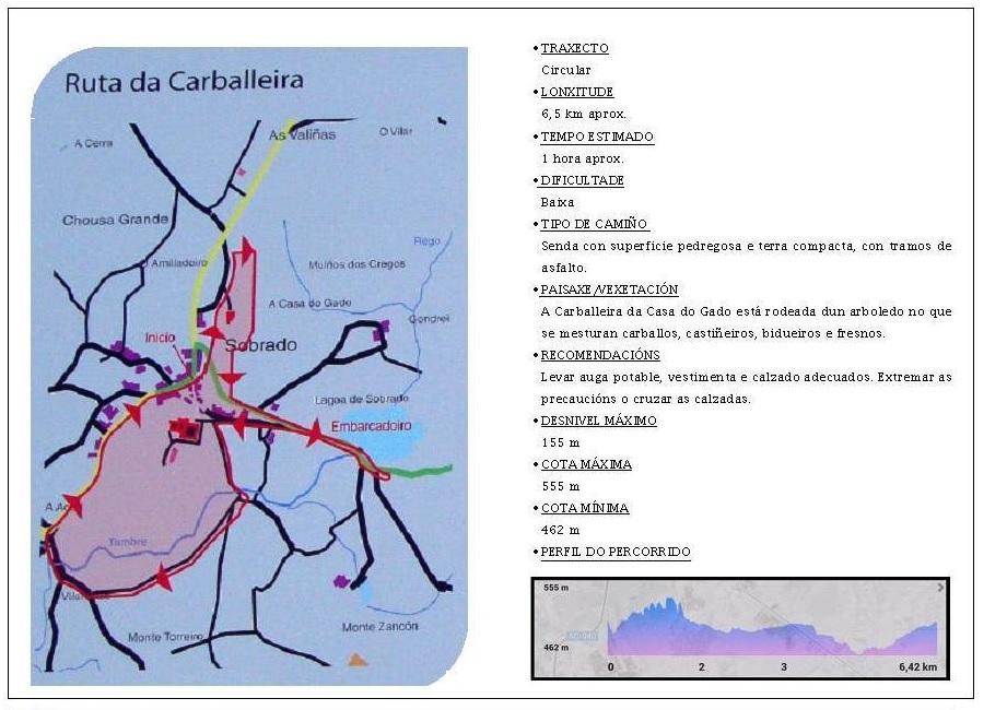 ruta da carballeira sobrado dos monxes - Senderismo en Sobrado dos Monxes: ruta da carballeira