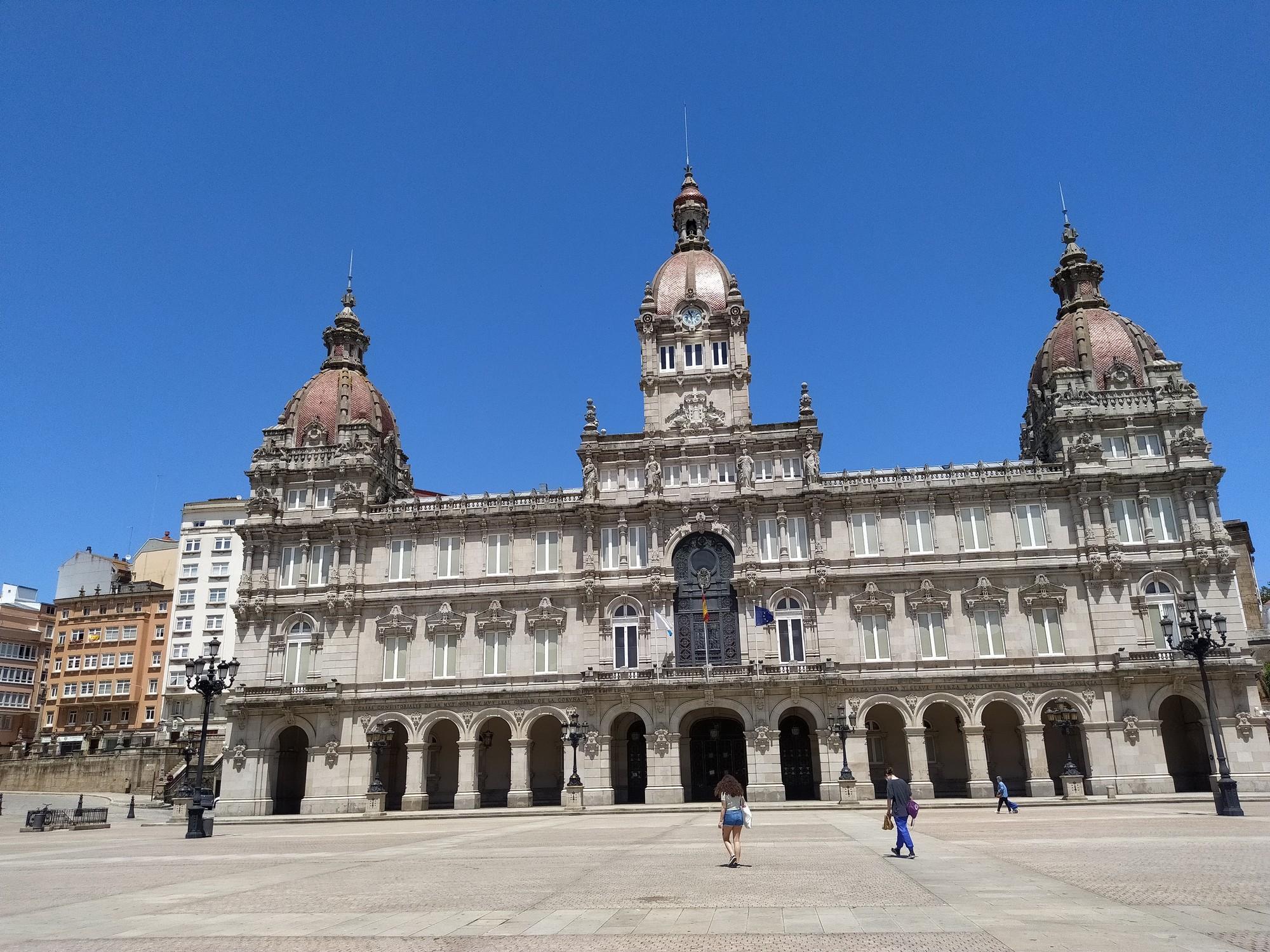 coruna y santa cruz 2 - A Coruña: qué ver