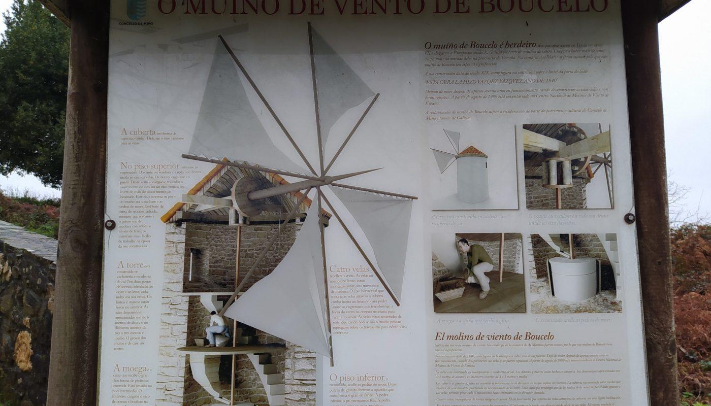 molino mino 2 1400x800 - Molinos de viento en Galicia: molino de Boucelo en Miño