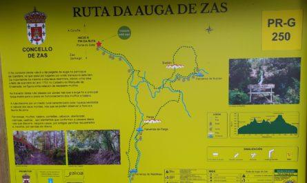senderismo zas ruta da auga prg 250 1 445x265 - Senderismo en Zas: PR-G 250, Ruta da Auga